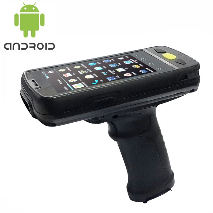 Android mobile 2D barcode scanner rugged device ideal for asset tracking ticketing retail